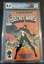 Marvel Super Heroes Secret Wars #8 CGC 8.5 1984 Origin of Black symbiote Suite
