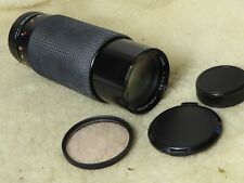 Sirius Nikon AIs 60-300mm F/4-5.6 Lente Zoom de enfoque manual, Gorras, Excelente