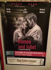 Original Movie Poster Romeo And Juliet Single Sided 27x40