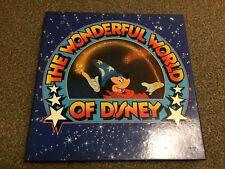 The Wonderful World of Disney box set x6 LP vinyl record