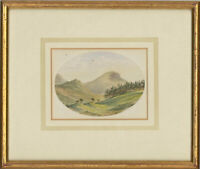 Framed Late 19th Century Watercolour - Robinson, Newlands, Lake District