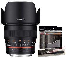 Samyang 50mm F1.4 AS UMC Full Frame Standard Lens for Canon EOS EF + Free GIFT