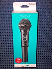 NEW Nintendo Switch Wii U Wired Microphone MIC for KARAOKE sing along JAPAN F/S