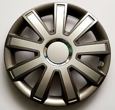 """Set di 4 15 """"copricerchi copertura, Cerchioni, Tappi per adattarsi Vauxhall Vivaro, MERIVA + REGALO # 9"""