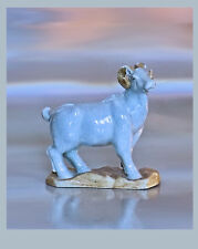 A Chinese Porcelain Aries / Widder - Starsign - On Rockery. 20th Century,13 h