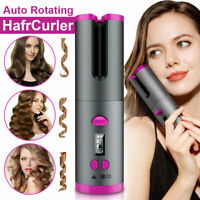 Wireless Hair Curler Automatic Curling Iron Ceramic Cordless USB Rechargeable UK
