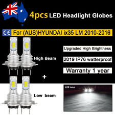 4x Headlight Globes For HYUNDAI ix35 LM 2011 2012 2013 High Low beam LED Bulb 2x