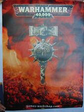 Warhammer 40K Space Marine Games Workshop Vinyle Banner Rare! gm775