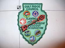 1974 Camp Flaming Arrow Reservation,PGR,pp, Gulf Ridge Council,OA 85 Seminole,FL