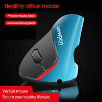 USB Vertical Wired Mouse Ergonomic Design Wrist Rest Gaming Mice For PC