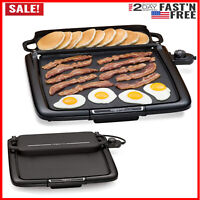 Electric Warming Rack Griddle Extra Large Nonstick Skillet Grill Countertop New
