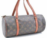 Authentic Louis Vuitton Monogram Papillon 30 Hand Bag Old Model M51365 LV B8017