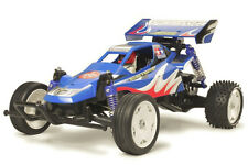 Tamiya 58416 Creciente Luchador Buggy RC Kit Deal paquete con steerwheel Radio