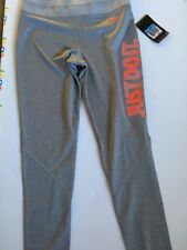 Nike Womens Pro Dri Fit Just Do It  Training Tights  547862 gry/ Hy/punch