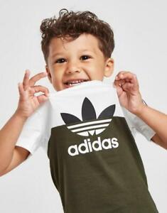New adidas Originals Sliced T-Shirt/Shorts Set Infant from JD Outlet