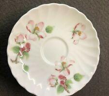 Porcelain Wedgwood déco Apple Blossom 6 petits sous-tasses