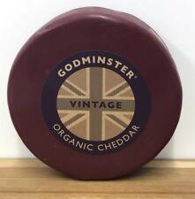 Godminster Certified Organic Cheddar 1kg Vintage Cheddar Cheese , Christmas