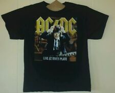 AC/DC Live At River Plate Concert Tour Large T-Shirt