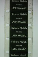 Vintage 16mm Film...' Latin Mambo ' ...Barbara Nichols