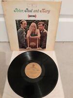 "Peter, Paul & Mary Moving 12"" Vinyl LP 1st WB Stereo WM 8124 1963"