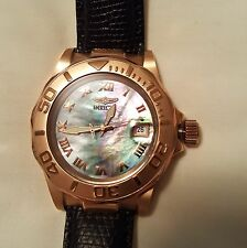 invicta Pro Diver automatic with black mother of pearl dial