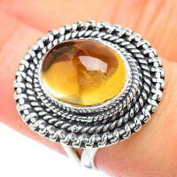 Citrine 925 Sterling Silver Ring Size 7.5 Ana Co Jewelry R56649F