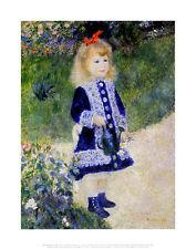 Renoir Girl with Watering Can Poster Kunstdruck Bild 36x28cm - Portofrei