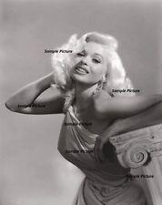 "Print Jayne Mansfield /""Autographed Photo/"" Photo Semi Glossy"