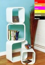 Cube (s) MDF 4 Shelves Bookcases, Shelving & Storage Furniture