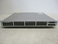 Cisco Catalyst 3850 48 PoE+ WS-C3850-48P-S  Switch C3850-NM-2-10G Module