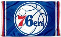 NEW Philadelphia 76ers Flag Large 3'X5' NBA Banner FREE SHIPPING