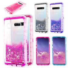 For Samsung Galaxy S10/10 Plus/S10e Glitter Liquid Colorful TPU Phone Case