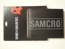 Men's Sons of Anarchy SOA Samcro Bi-Fold Wallet