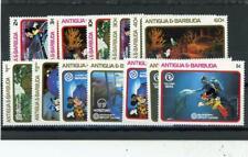 Antigua 1988 Disney Scott# 1116A-1124 Mint Nh