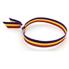Pulsera bandera Republica Pulsera Republicana Tricolor poliester 10mm
