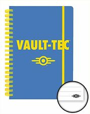 Official Fallout 4 Notebook Lined A5 Notepad Gaming Vault Tec Novelty Gift