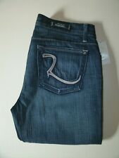 BNWT Rock & Republic Jeans Size 29 Made in U.S.A. Embroidered Low Rise Tag $196