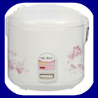 10-Cup Rice Cooker Non-stick Inner Pot White                                     photo