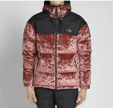 NEW SIZE SMALL US - The North Face Black Series Velvet Nuptse  Regal Red Pink