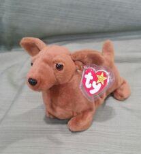 Ty Beanie Baby Weenie the Dachshund Dog w/Errors Style 4013 1995 PVC  MWMT