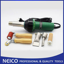Roofing Membrane Hot Air Welder Heat Gun With Seam Penny Roller And Weld Nozzles