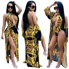 Sexy, Cut Out, designer Print one piece Swimsuit with Kraftan ....SIZE..12-14