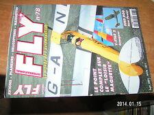 Fly n°78 Plan encarté Morane Saulnier Type H / V-Star 2 Paddle Spitfire