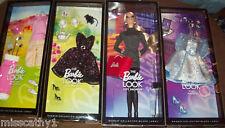 The Barbie Look City Shopper Doll ,WARDROBE & 3  Barbie Look Fashions  *NEW*