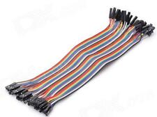 40 Pieces Female-Female Breadboard Jumper Cable / Hookup Wire 200mm F-F
