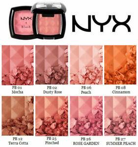 NEW NYX Cosmetics Powder Blush PB01 Mocha 0.14oz/4g  FREE SHIPPING