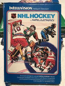 Intellivision NHL Hockey Boxed