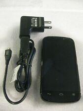 ZTE Warp Sequent N861 - 4GB - Black (Unknown Carrier) Smartphone W/charger!