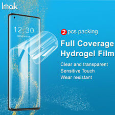 imak For Motorola Edge+ Soft Hydrogel Film 3D Curved Full Cover Screen Protector