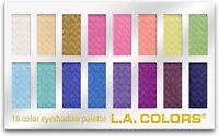 L.A. Colors 16 Color Eyeshadow Palette, Haute 1.02 oz